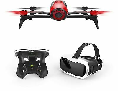 Parrot Bebop 2 Quadcopter Drone RED  with Skycontroller 2 & Cockpit FPV Glasses