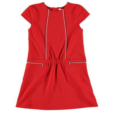 French Connection FCUK Royal Dress Riot Red Girls Juniors Size 14-15Y *REF71