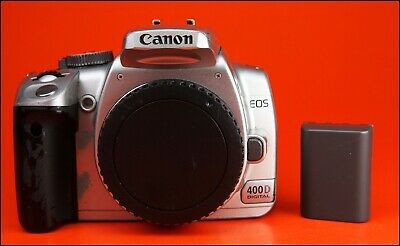 Canon EOS 400D Digital SLR Camera  Sold With Battery,