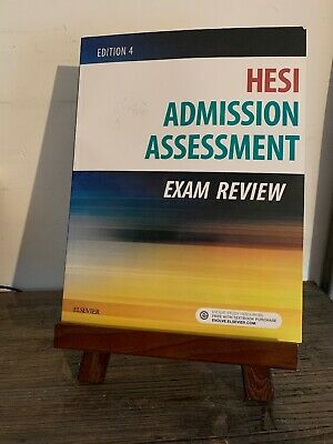 Admission Assessment Exam Review by Hesi (Paperback, 2017) Ed. 4