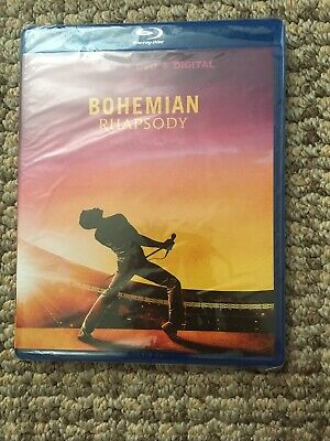 Bohemian Rhapsody Blu-Ray & DVD Brand NEW Sealed Rami Malek 2018 PG-13