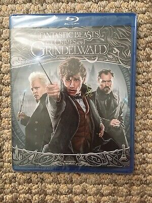Harry Potter: Fantastic Beasts:The crimes of Grindelwald Bluray Brand New Sealed