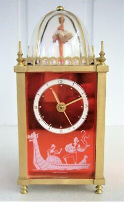 Vintage Musical Alarm Clock With Automation  - Working