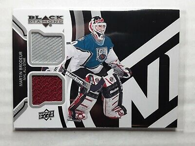 2013/14 UD BLACK DIAMOND Martin Brodeur ALL-STAR DOUBLE DIAMOND JERSEYS PATCH