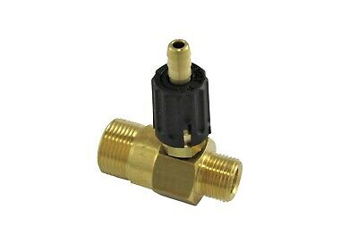 "Pressure Washer P.A Chemical Injector BrassSoap Venture 3/8""M B.S.P To M22M"
