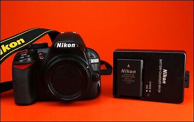 Nikon D3100 DSLR Camera Sold With Battery & Charger, Strap + Only 9,243 Shots