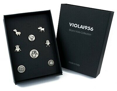 Set of 9 shank buttons - VIOLA1956 series gift box - Set 021. Baby