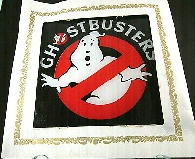 Carnival Glass Vintage Ghost Busters Picture