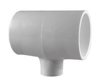 "Charlotte Pipe Reducing Tee 1 "" X 1 "" X 3/4 "" White Pvc Schedule 40"