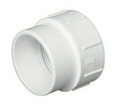 "Charlotte Pipe Clean-Out Adapter Pvc Dwv Spigot X Fpt 1-1/2 "" Schedule 40"
