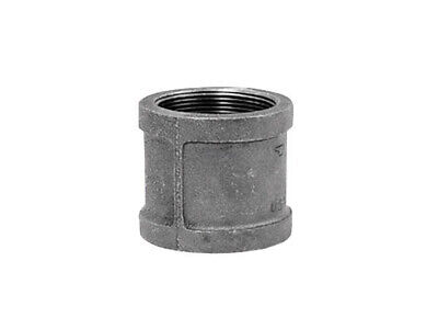 Anvil Coupling Black 3/8 ""