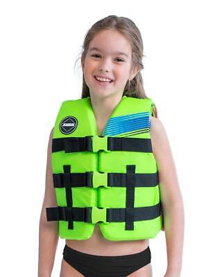 Gilet Enfant 30-40KG 50N - Jobe Nylon Vest Youth Lime Green 2020