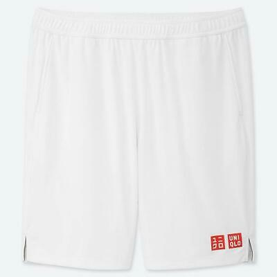 New Uniqlo Roger Federer Wimbledon 2019 Official Tennis Shorts  Size Large / XL