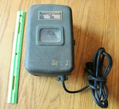 Automatic Electric mfg timer Army Military 20 Amp Vintage