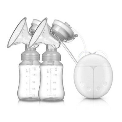 Easy Electric Hand Free Double Breast Pump Automatic Intelligent Baby Feeder USB