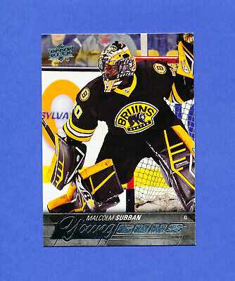 2015 UD HOCKEY YOUNG GUNS rookie MALCOLM SUBBAN rookie YG RC