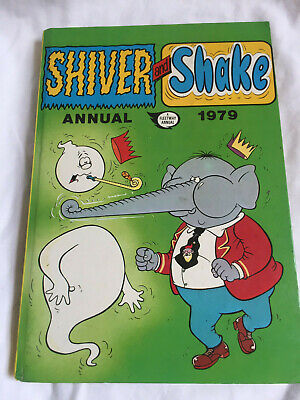 VINTAGE Shiver And Shake Annual 1979