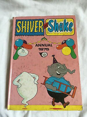 VINTAGE Shiver And Shake Annual 1975