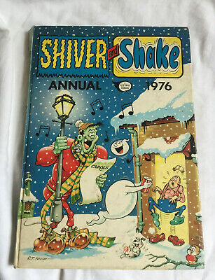 VINTAGE Shiver And Shake Annual 1976