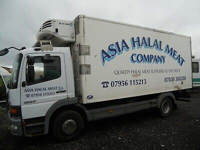 Mercedes 1523 Refrigerated 2003 Tk Ts300 Eqpt Good Working Order 20' Drives A1