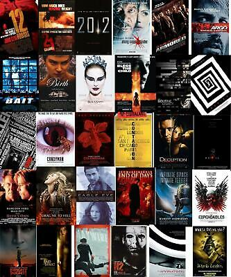 """Lot of 81 Horror Movie Poster 27"""" x 40"""" DS Theater Thriller Scifi 90's 2000's"""