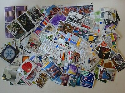 GB mint stamps for postage - £25.00 face value - full gum...(18)