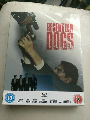 Reservoir Dogs (Blu-ray Limited Edition Steelbook, 2013) - Brand New & Sealed