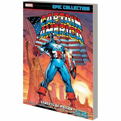 Captain America Epic Collection Streets Of Poison Tpb - Brand New
