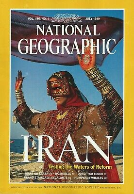 National Geographic Magazine - July 1999 - Iran Testing the Waters of Reform