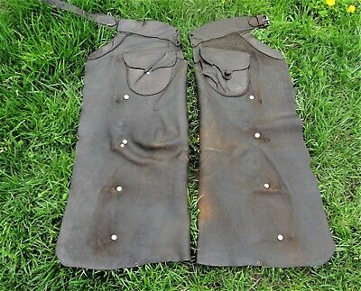 Vintage Set of S.C. GALLUP  Chaps w/ Two Front Pockets