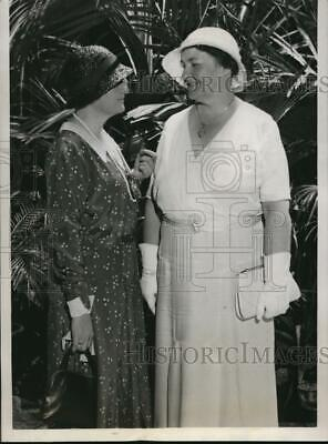 1932 Press Photo Kay Dayton & Mary Norton at Democratic Natl Convention Chicago