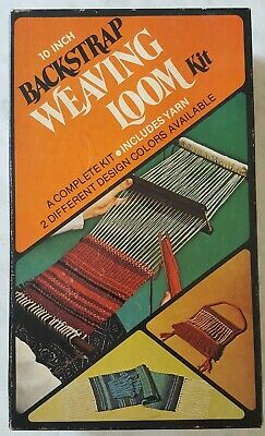Backstrap Weaving Loom Kit 10 inch WB101 Craftyme Products 1974 Vintage