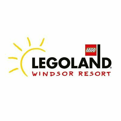 Legoland Windsor Tickets x 2 - Tuesday 27 August 2019 27/08/2019