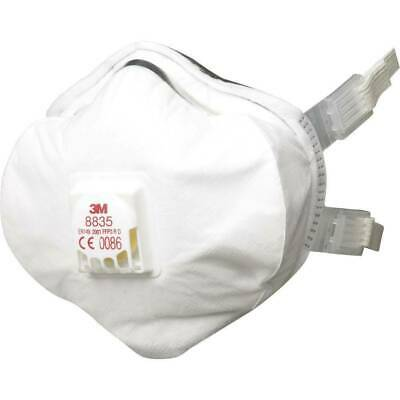 3M 5X Disposable Respirator, FFP3, Valved, 8835-- Pack of 5