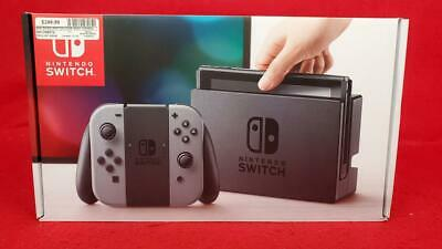 Nintendo Switch 32GB Gray Console (with Gray Joy-Cons) (SS1058574)