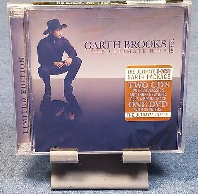 The Ultimate Hits by Garth Brooks (CD,Nov-2007,3 Discs,Pearl) FACTORY SEALED!!!!