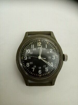 Benrus US Military Wrist Watch Vietnam, Apr1969. 46374 Revision A. Working.