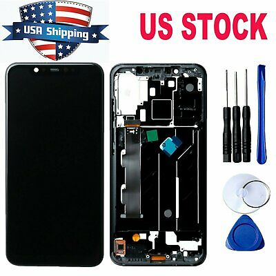 Replacement LCD Display Touch Screen Digitizer Assembly Black for Xiaomi Mi 8#US