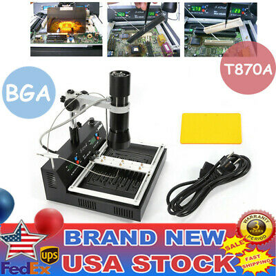 T870A Digital Infrared BGA Rework Station Soldering tool For repair Desoldering