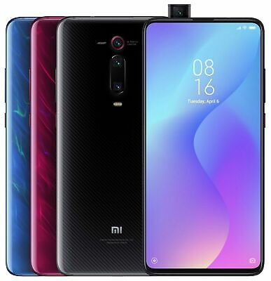 Xiaomi Mi 9T 128GB 6GB Ram (FACTORY UNLOCKED) 6.39 48MP Black Blue Red (Global)