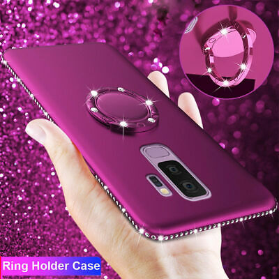 Bling Diamond Shockproof Case for SAMSUNG GALAXY S10 A9 2018 Note 9 Stand Cover