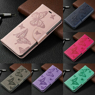 For iPhone XS Max XR X 8 7 Plus Phone Case Embossing Leather Wallet Flip Cover