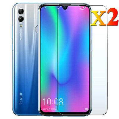 2PCS For Huawei Honor 10 8X 9/10 Lite Clear Tempered Glass Film Screen Protector