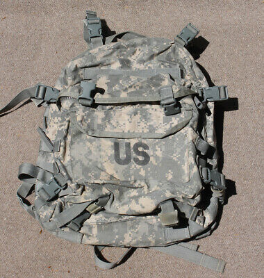 GENUINE US MILITARY ACU ASSAULT PACK backpack rucksack usmc army gi hiking 3 day