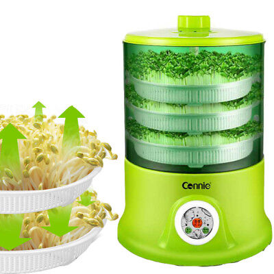 New Grow Automatic 3 Layers Capacity Multi-Functional Bean Sprout Machine