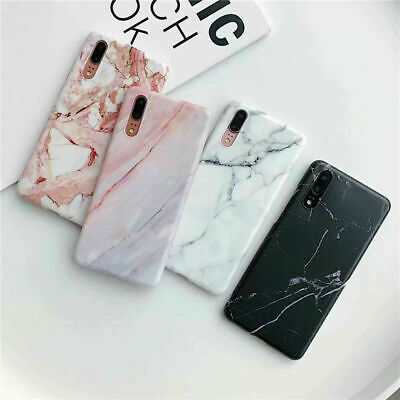 For Huawei P30 Pro/Lite P20 Mate 20 Pro Marble Pattern Soft Silicone Case Cover