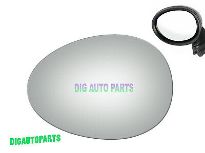 BACKPLATE for 07-15 MINI COOPER Driver Side SEE NOTE 779LFH HEATED Mirror Glass