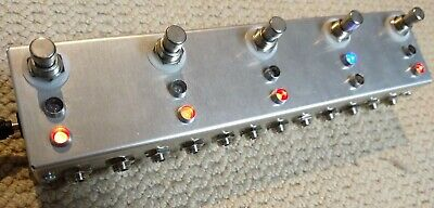 True Bypass Looper Pedal Switch Box Aluminium Guitar On Off Pedalboard Effect