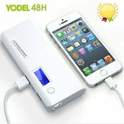 500000mAh External Power Bank Backup Portable LCD LED Battery Charger For Phone