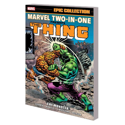 Marvel Two In One Epic Collection Tp Cry Monster Tpb - Brand New